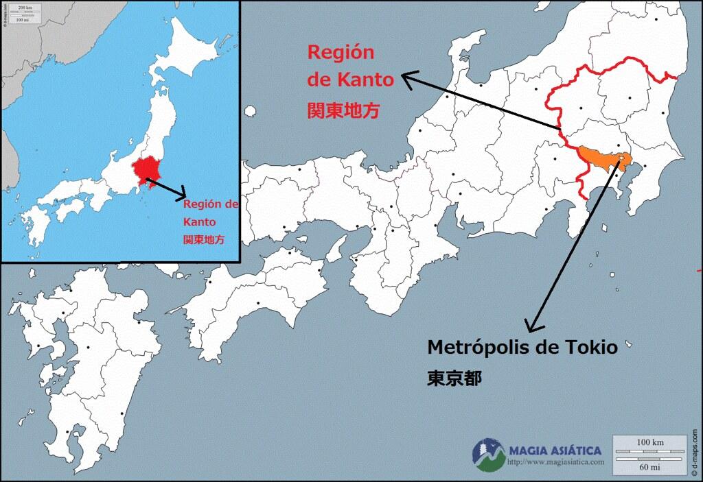 Mapa De Tokio Magiasiatica Flickr