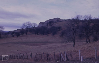 Morlais Hill looking north from Galon Uchaf. North of East Merthyr. 10/3/1971