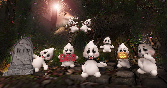 •693 CUTE GHOSTS