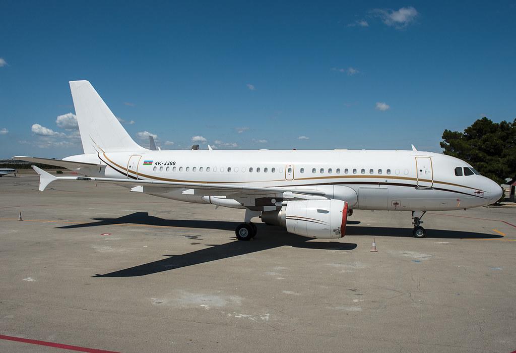 4K-JJ88 Silk Way Business Aviation Airbus ACJ319 (A319-115/CJ)
