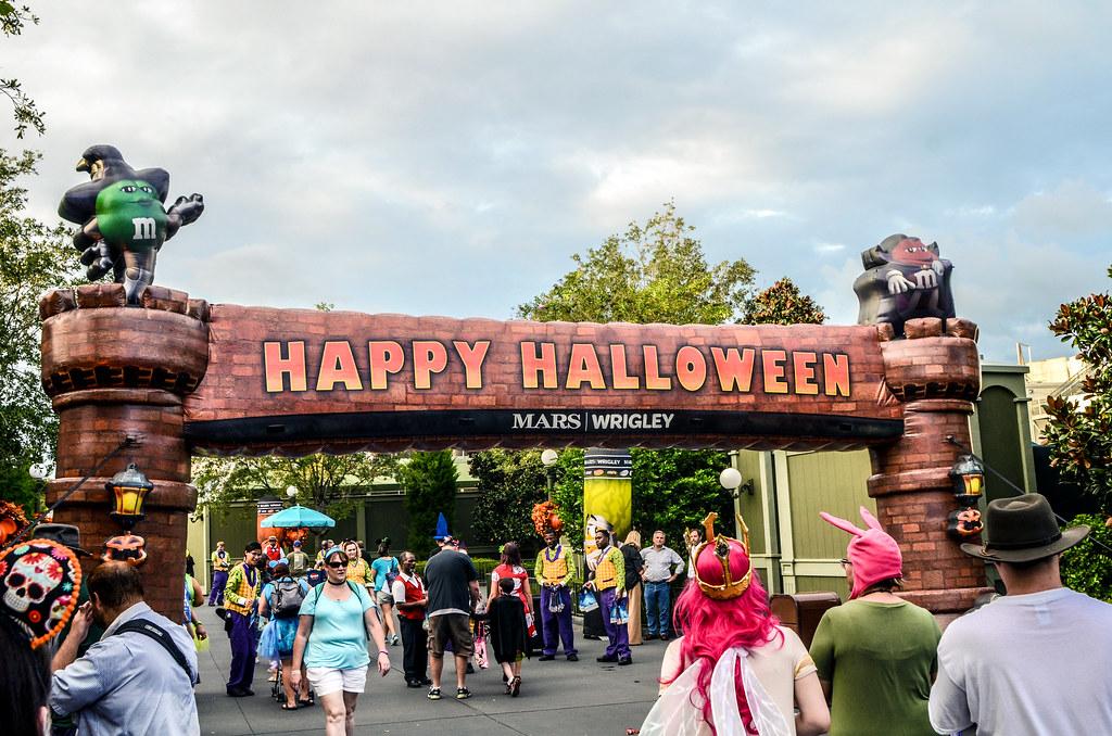 Halloween Party entrance
