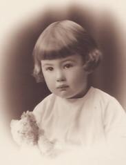 Ruth Binney later Baxendale, 1927