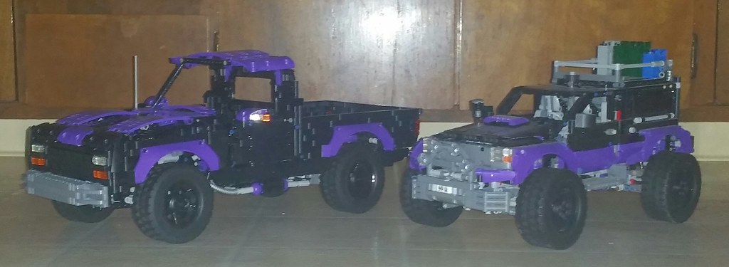 Lego Technic 42069 Extreme Adventure Modified With Unimog Flickr