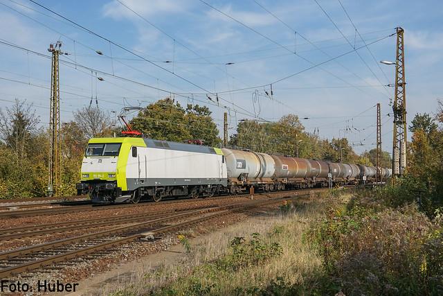 152 196 ITL / Captrain Deutschland   Leipzig-Wiederitzsch   Oktober 2017