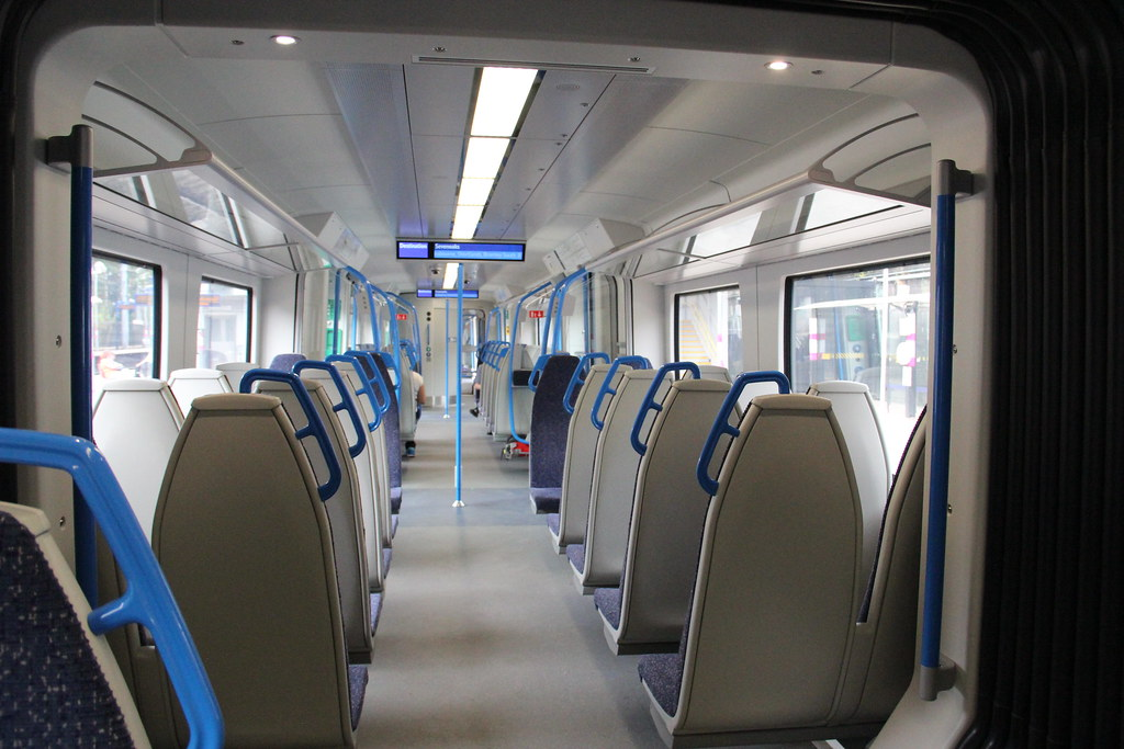 Thameslink Class 700 Interior | From Wikipedia Pictured on t