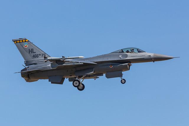 88-0466, Lockheed F-16C US Air Force @ Albacete Los Llanos LEAB
