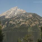 Teewinot Mountain and Jenny Lake