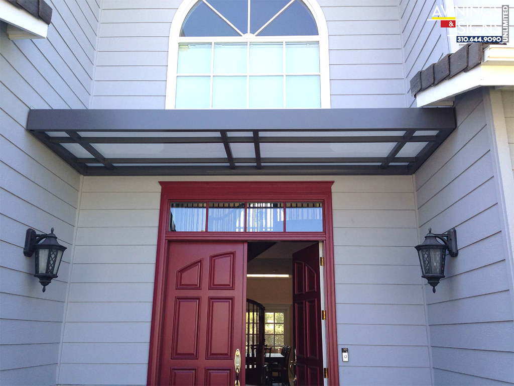 Custom Residential Metal Canopy | Awnings & Signs Unlimited