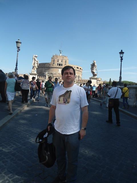 Castel Sant' Angelo & Ponte S. Angelo, Roma, Italia/Rome, Italy - www.meEncantaViajar.com