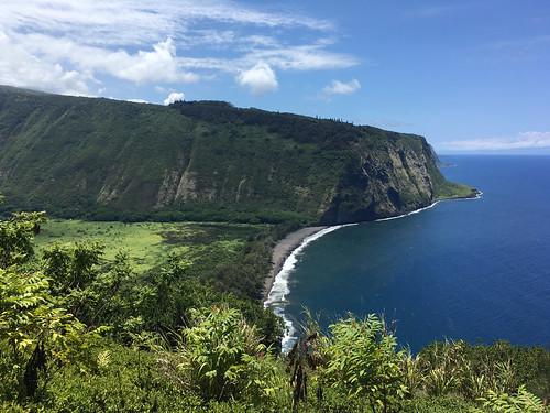 landscape kohala nature water waipiovalley clouds hawaiʻi waipiʻovalley steep rainforest cliffs hawaai hawaii pacificocean sea bigisland hāmākua