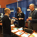 Molly Belinki & Brian Turner at the CTSI table, 2017 UCSF Sharecase IT event
