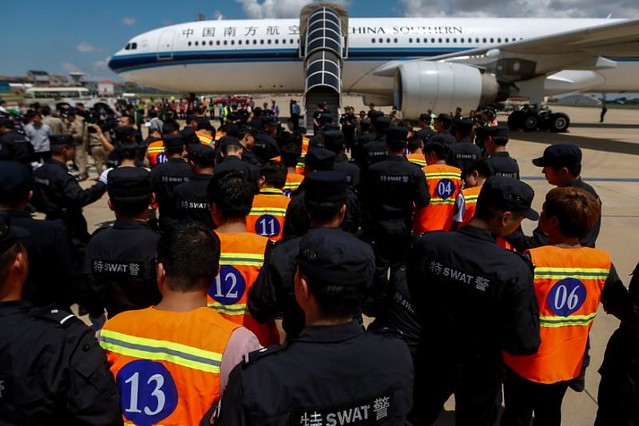Cambodia deports 74 Chinese arrested for telecom extortion