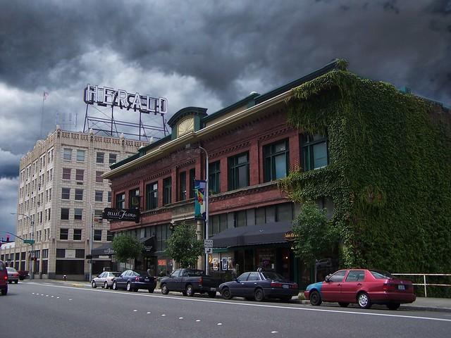 Bellingham  ~ Washington ~  Daylight Building ~ Historic