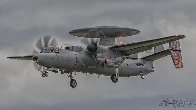 French Navy Grumman E-2 C II Hawkeye 2