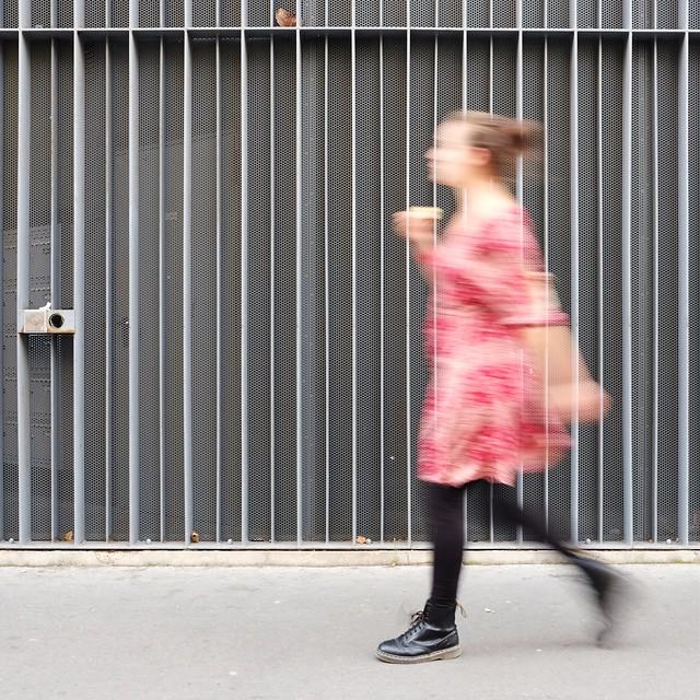 Pink dress ( blur walkers )