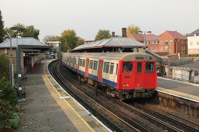 Train 710 @ Rickmansworth