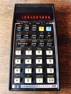 HP-33E scientific calculator (1979)