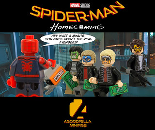 Spider-Man Homecoming (ATM Robbery) 💰🔫 [MCU] [A DAY IN T… | Flickr