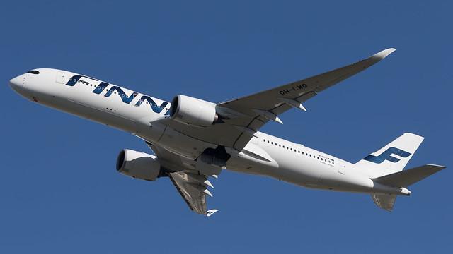 LHR - Finnair Airbus 350-900
