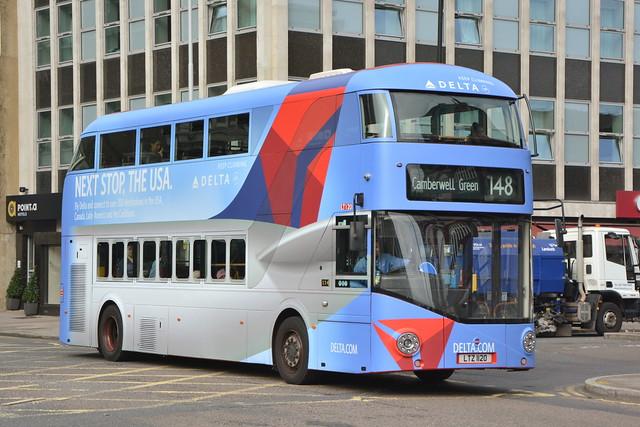 LTZ 1120 (LT 120) RATP London United New Routemaster