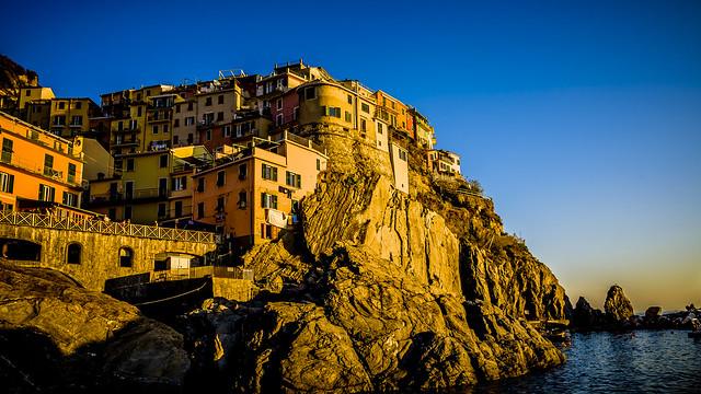 Vernazza, Hora Dorada, Cinque Terre