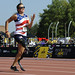 U.S. Air Force Capt. Christy Wise runs the women 100 meter dash during 2017 Invictus Games at York Lions Stadium in Toronto, Canada, September 24, 2017. Wise is the captain of Team US. Invictus Games are the sole international adaptive sporting event for injured active duty and veteran service members. (U.S. Air Force photo/ Staff Sgt Jannelle McRae)