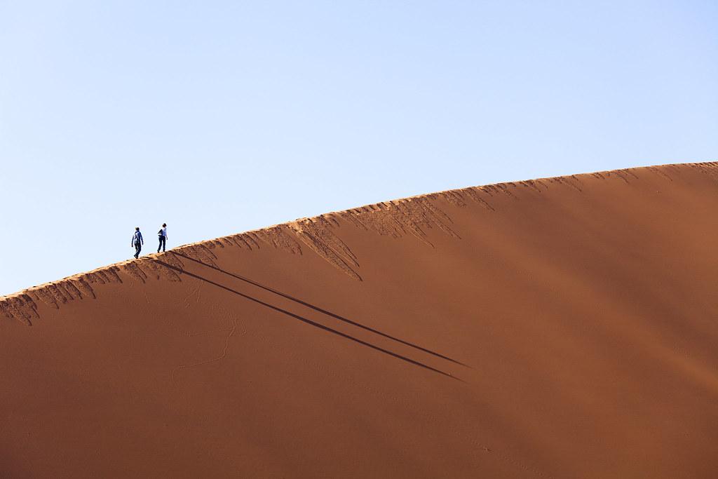 Dune 45 Sossusvlei Namibia The Dunes At Sossusvlei Are F