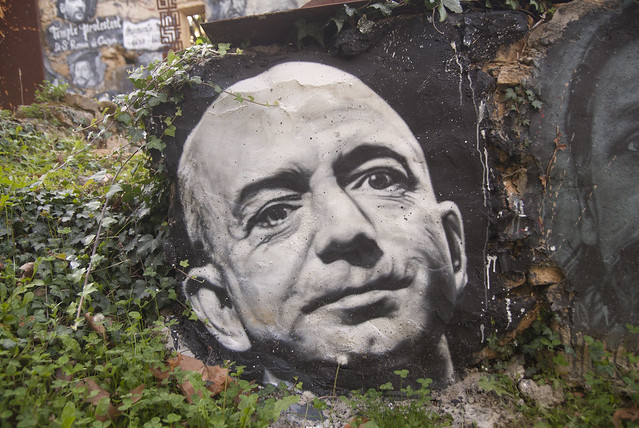 Jeff Bezos painted portrait _DDC0026