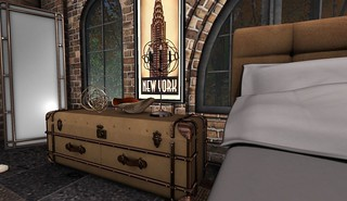 4 Seasons of Bedrooms: Autumn Glow (Fall Trunk) | by Hidden Gems in Second Life (Interior Designer)