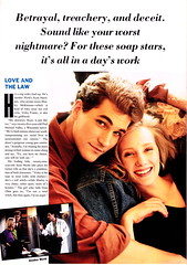 Seventeen Paul Michael Valley and Anne Heche Feb. 1991