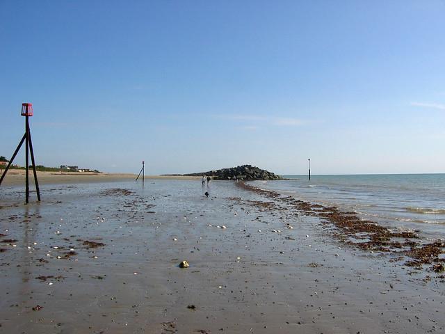 The coast at Elmer