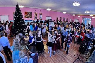 Рождественский концерт в школе 330