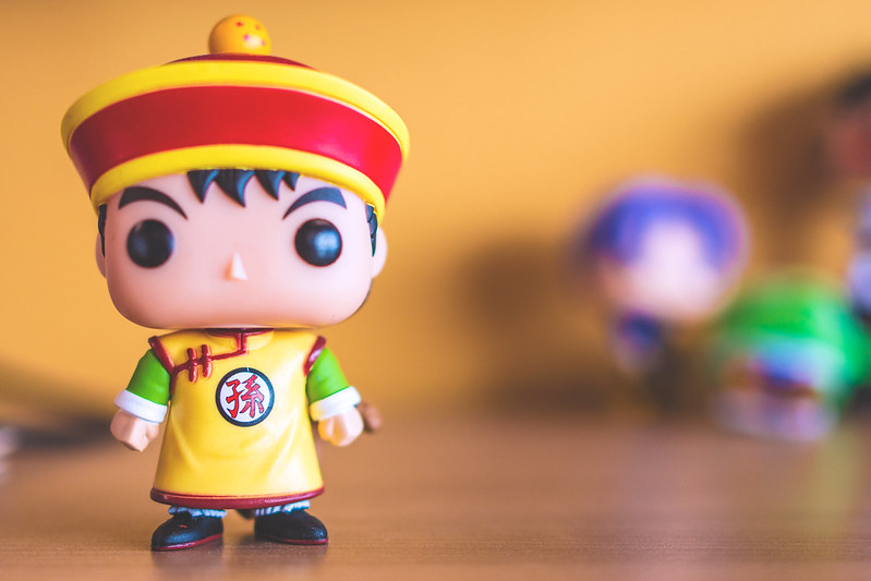 Gohan POP figurine