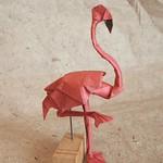 【Origami】 Flamingo