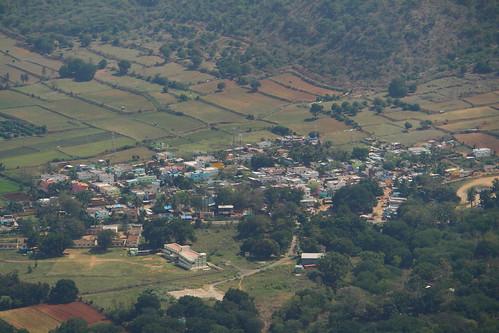 farms aerial idukki kerala india ind