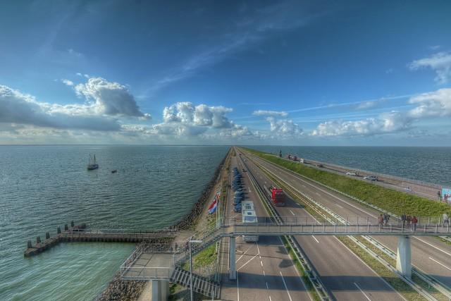 Abschluss Deich IJsselmeer