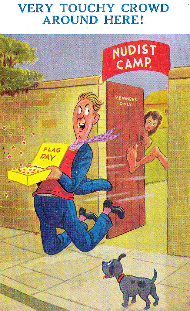 Nudist Camp - Fast Ejection in 1953. And Secret Love