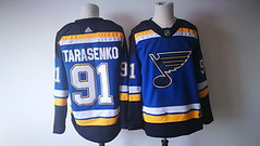 Men's St. Louis Blues #91 Vladimir Tarasenko Blue 2017-2018 Hockey Stitched NHL Jersey