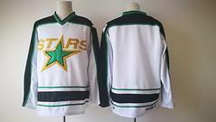 Men's Dallas Stars Blank Adidas White Stitched NHL Jersey