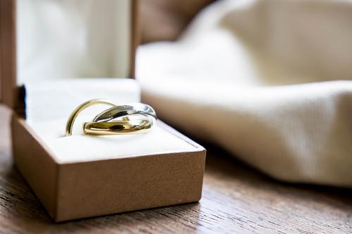 Three color ring for wedding | by wuestenigel