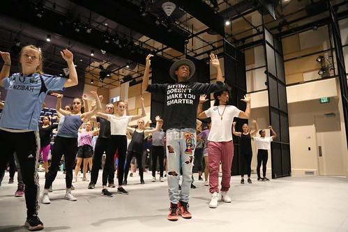 Kaufman BFA Students learn from Jon Boogz