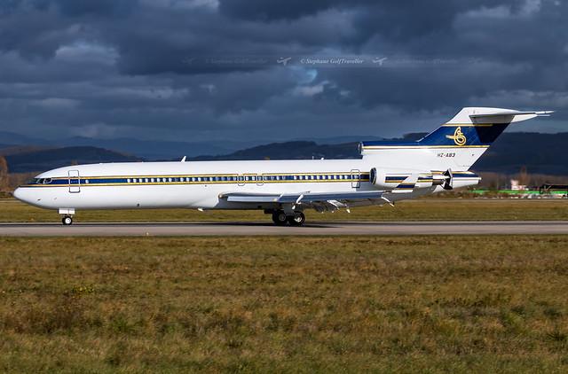 HZ-AB3 Boeing 727-2U5(RE)(WL) Al Anwa Aviation I BSL I 2017.10.30