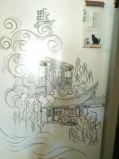 歐厝50號賣店(順天洋樓)阿匡老師隨意畫 | by 金門國家公園
