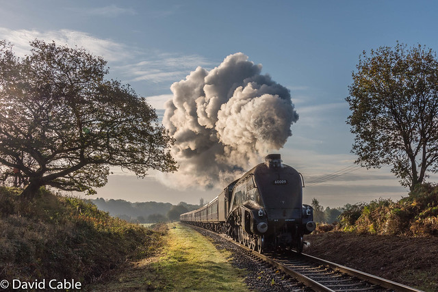 60009 - Union of South Africa - Early Morning Light at Burrs
