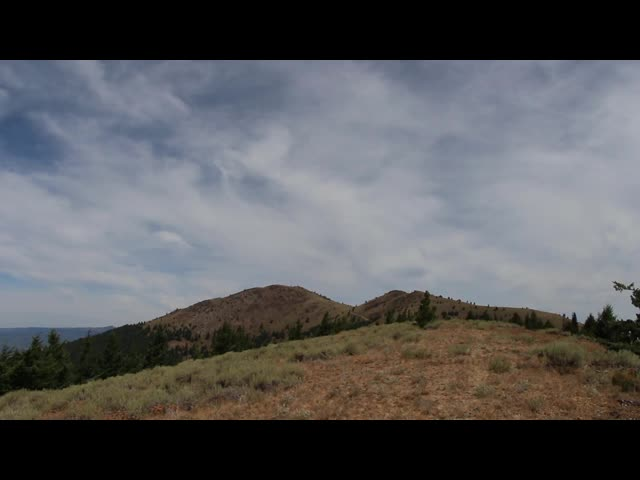 6236 Panorama video from the far south ridge of Dixie Butte