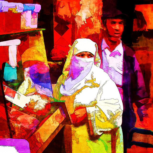 on a moroccan market II