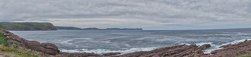 capespear newfoundlandandlabrador easterlypoint mosteasterlypointinnorthamerica atlanticocean water rocks sky beach gabih panaroma beauty power cliffs