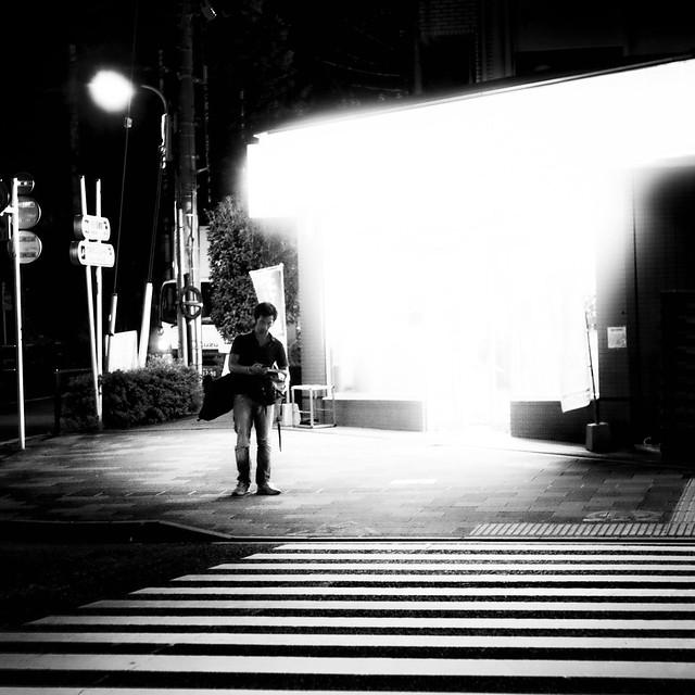 night walk/夜の散歩