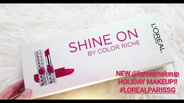 L'Oreal Paris Makeup Holiday Collection 2017
