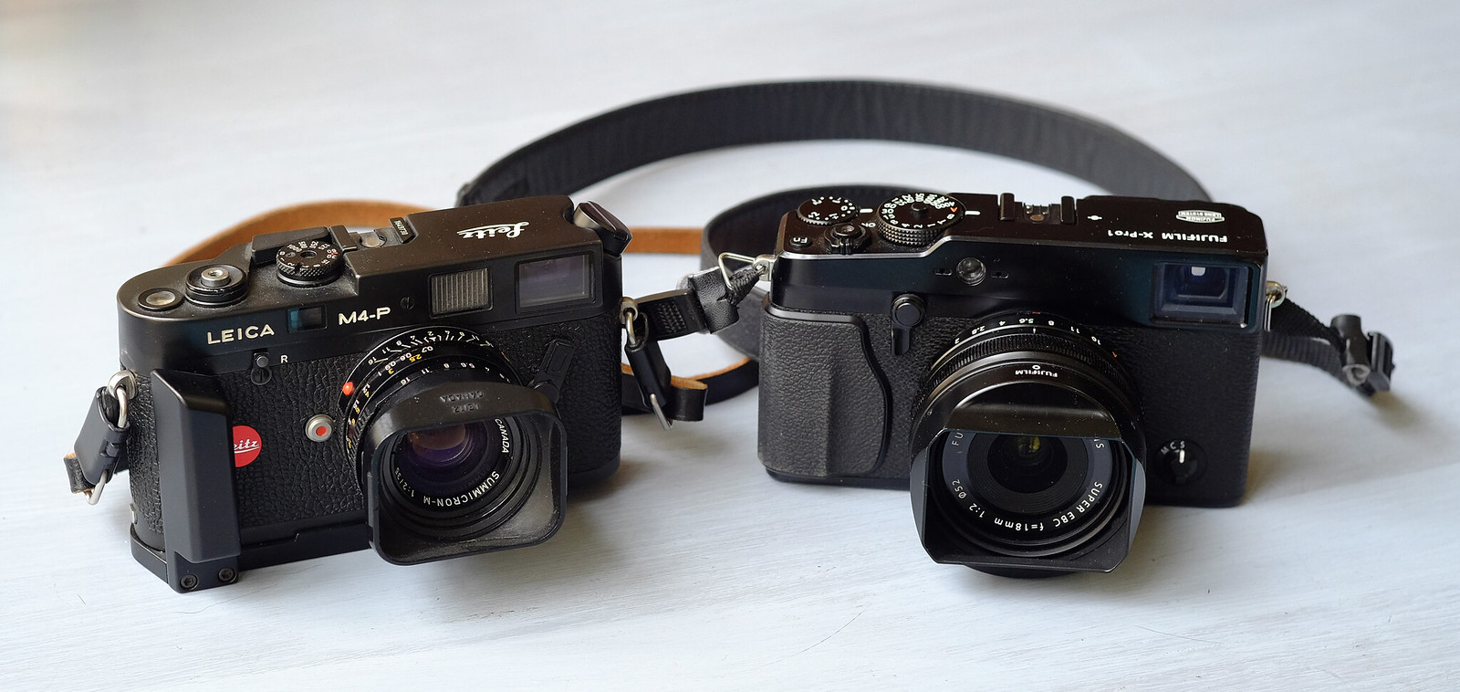 Leica M4-P vs Fuji X-PRO1 | Philippe Burzock | Flickr